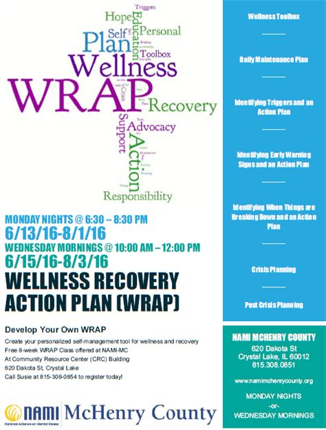 wellness and recovery plan template wellness plan template pictures to pin on