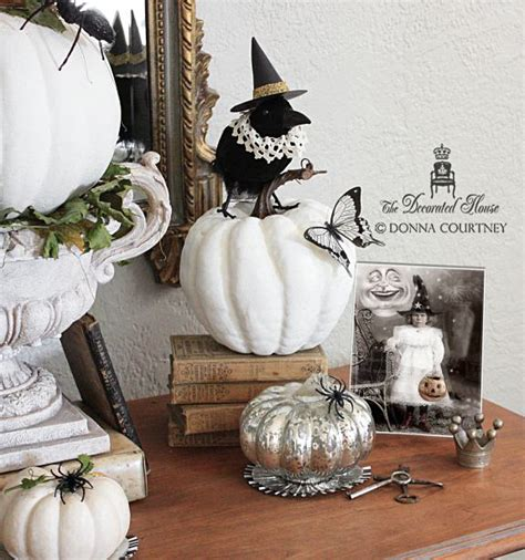 elegant halloween home decor the decorated house halloween decorating black and