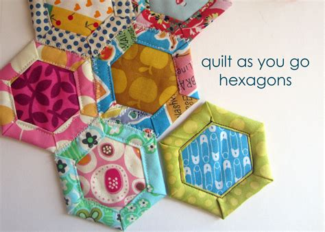 Quilt As You Go Tutorials by Quilt As You Go Hexagon Tutorial Susannah Kate Sews