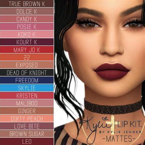 Make Up Ultimate sims 4 updates simpliciaty make up lip kit
