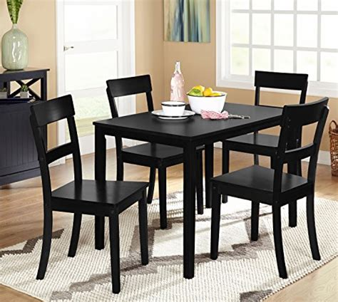 Target Black Kitchen Chairs by Target Marketing Systems Ian Collection 5 Piece Indoor