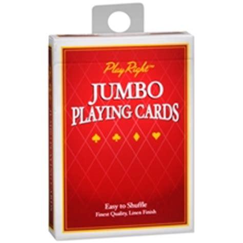 Walgreens Cards - playright jumbo cards walgreens