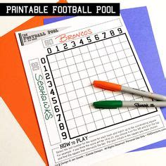 Are Office Football Pools Illegal In Day On Football Bingo Cards And
