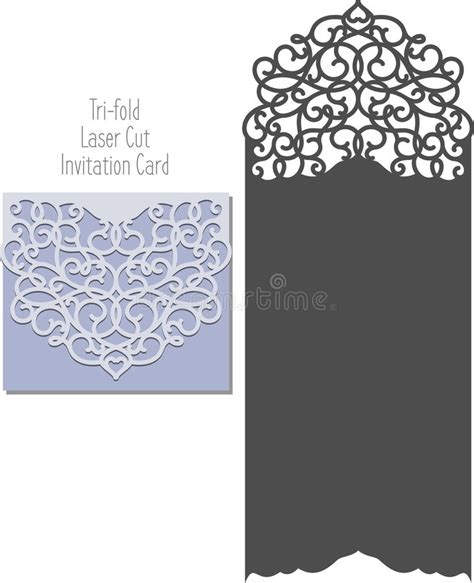invitation card envelope template laser cut envelope template for invitation wedding card