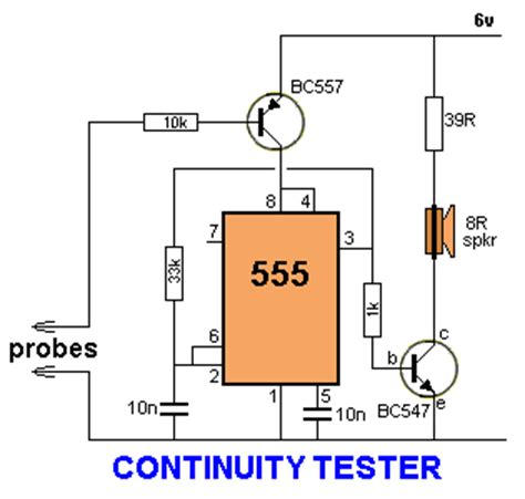 zener diode tester using 555 electronica 555