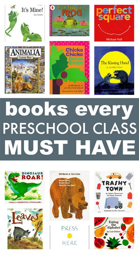 picture books for toddlers and preschoolers 58 books every preschool class must no time for