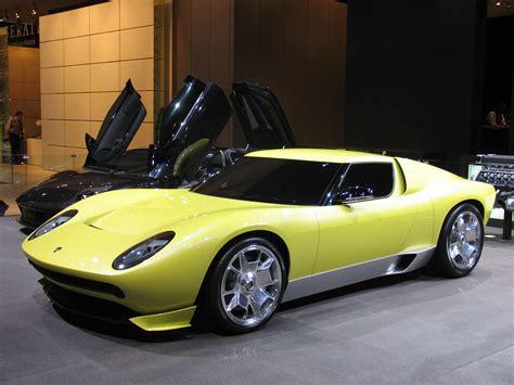 lamborghini concept lamborghini miura concept car design