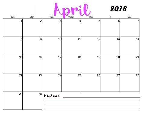 printable blank april calendar maxcalendars