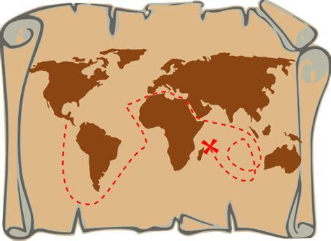 clipart of map treasure map clip at clker vector clip