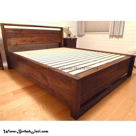 Tempat Tidur Kayu Ker tempat tidur model minimalis kayu jati berkah jati furniture berkah jati furniture