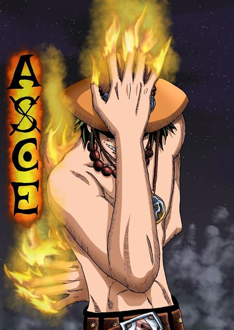 one piece ace ace one piece photo 16570816 fanpop