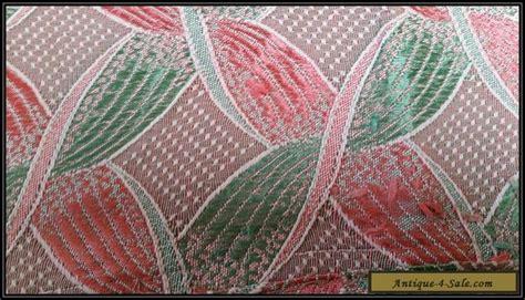 3 Pieces Original Art Deco Curtain Fabric For Sale In