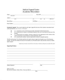 appeal template letter appeal letter exle 11 free word pdf documents