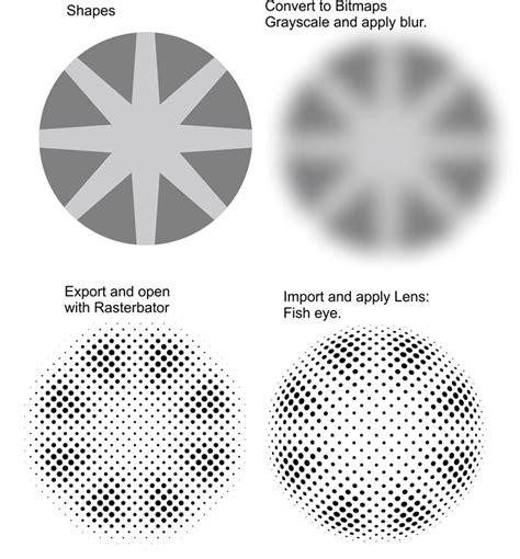 corel draw x6 halftone spherical halftone coreldraw x6 coreldraw graphics