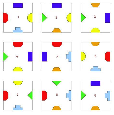 juegos cuadrados puzzle de los 9 cuadrados acertijos y cosas