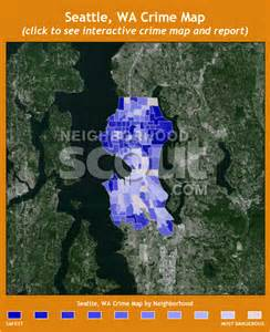 Seattle Police Crime Map by Seattle Crime Map Map3