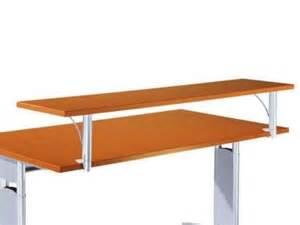 desk with top shelf computer desk accessories organized desk shelves