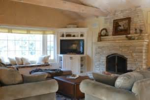 Carmel Home Design Group Corner Tv Next To Fireplace For The Home Pinterest