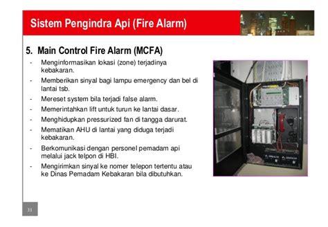 Alarm Asap Dan Api sistem pemadam api dan pengindera api