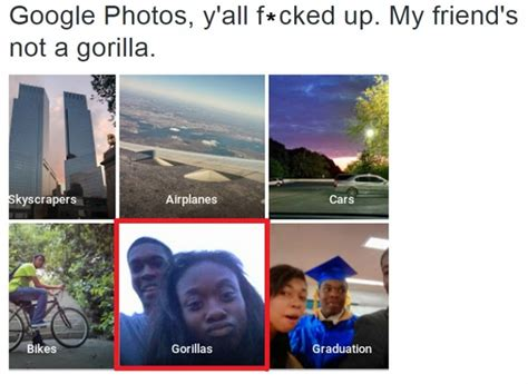 google images recognition google s photo recognition software thinks two black