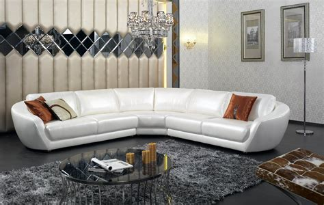 living room italian leather sectional sofa with black