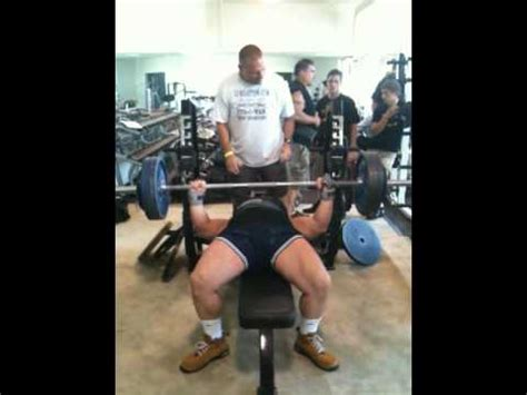world record for 225 bench press bob norris bench press world record youtube