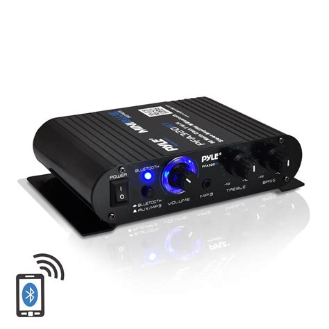 Ac Aux 320 Watt new pyle pfa320bt 90w bluetooth mini class t lifier w