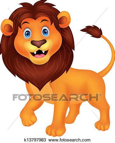 imagenes leones en caricatura クリップアート 切り張り イラスト 絵画 集 かわいい ライオン 漫画 歩くこと k13797983