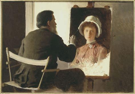 a painter file ivan kramskoy kramskoy painting a portrait of his