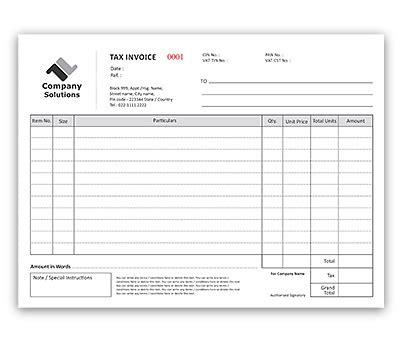 design invoice books online bill book design for invoice a4 offset or digital printing