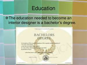 college degree design interior interior design