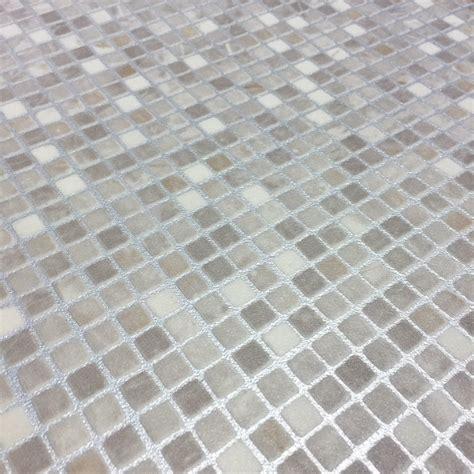Motif Roll motif vinyl flooring mosaic pebble from gofloorit uk