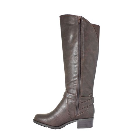 wide calf boot california wide calf boot chocolate intaglia co