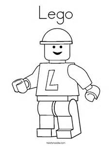 Lego Outline by Lego Coloring Page Twisty Noodle
