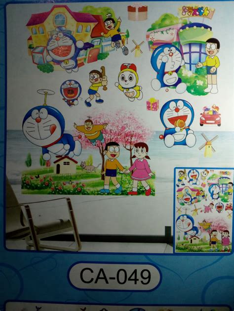 wallpaper dinding doraemon murah 107 harga wallpaper dinding 3d doraemon wallpaper dinding