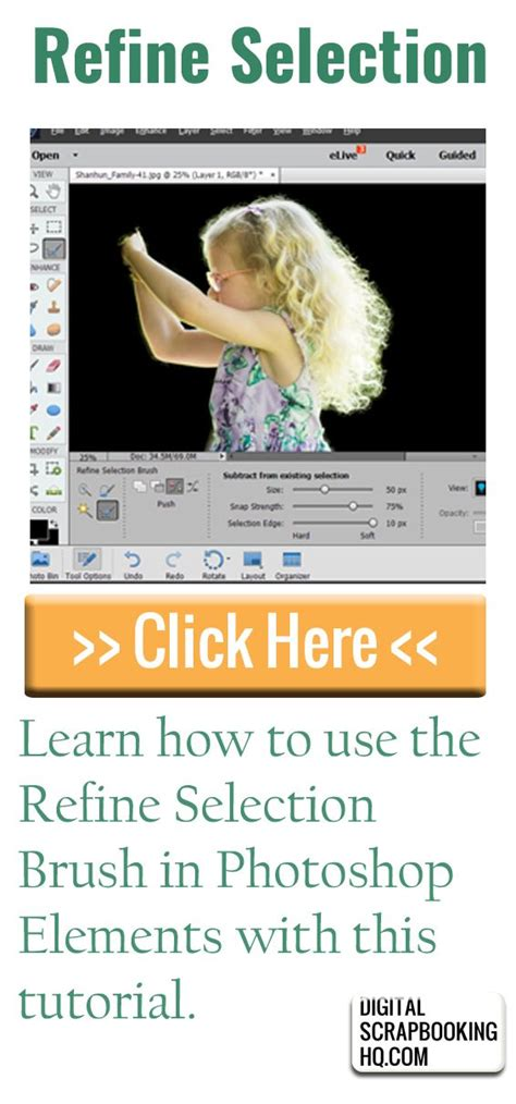 tutorial adobe photoshop elements 5 0 how to create a precise selection in photoshop elements
