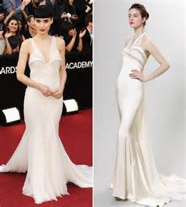 Rooney Mara In White Givenchy Dress » Ideas Home Design