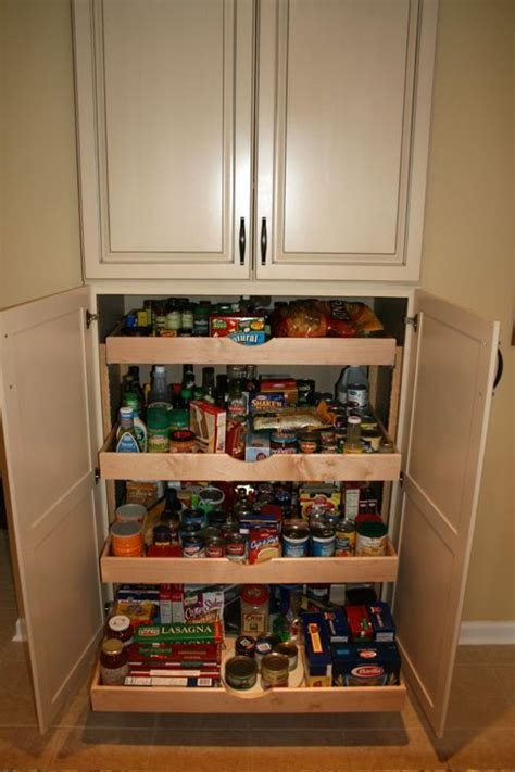 kitchen larder cabinets 25 best ideas about pull out pantry on pinterest