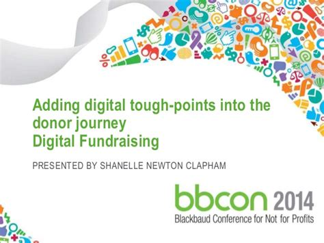 Adding Digital Touch Points Into Your Donor Journey Fundraising Donor Journey Template