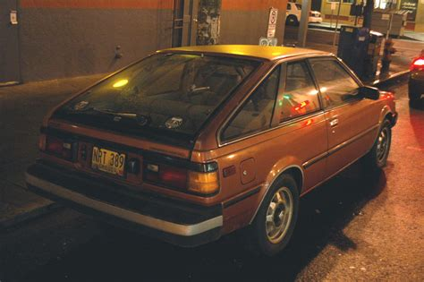Old Parked Cars 1982 Datsun Nissan Sentra Hatchback