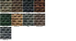 timberline shingles color chart arrowhead building supply gaf elk shingles arrowhead