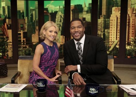 live with kelly michael live with kelly and michael travels to california for