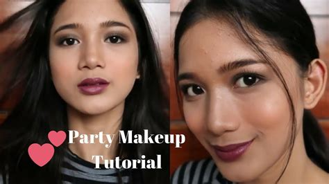 makeup tutorial in the philippines easy party makeup tutorial chatty philippines tyra c