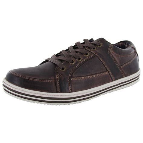 Steve Madden Mens Shoes by Steve Madden Mens Reiggn Lace Up Fashion Sneaker Shoe Ebay