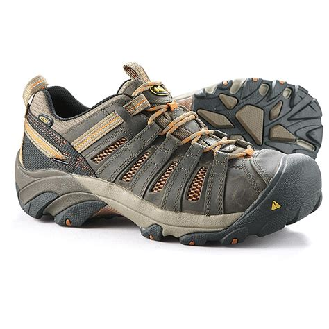 steel toe sneakers keen utility s flint low steel toe work shoes 423574
