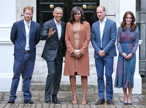 prince harry president barack obama michelle obama prince william