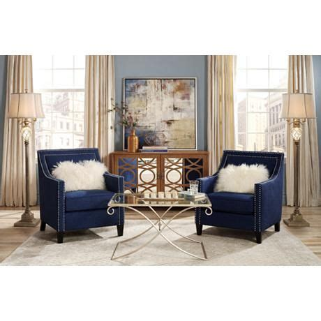 Blue Accent Chairs Living Room Blue Accent Chairs For Living Room Ideas Designs Ideas Decors