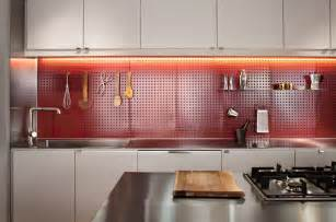 Red Backsplash Kitchen best kitchens featured in dwell