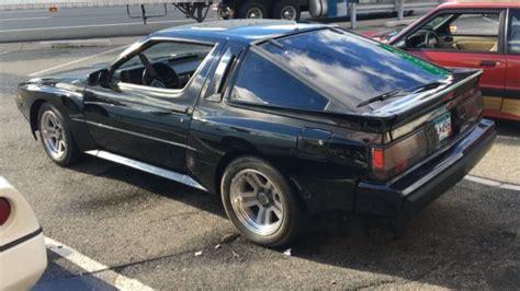 1987 Chrysler Conquest Tsi by 1987 Chrysler Conquest Tsi Starion Esir No Reserve