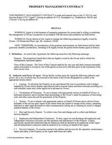 Car Rental Laws Washington State Property Management Agreement For Landlords Ez